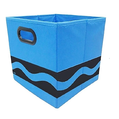 Crayola Black Serpentine Blue Storage Bin (CRYSTOR204)