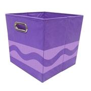 Crayola Tone Serpentine Purple Storage Bin (CRYSTOR101)