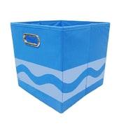 Crayola Tone Serpentine Blue Storage Bin (CRYSTOR104)