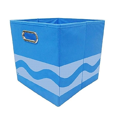 Crayola Tone Serpentine Blue Storage Bin (CRYSTOR104)