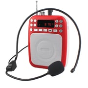 Supersonic 93598906M Bluetooth Portable PA System - Red