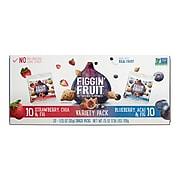 Figgin' Fruit Cookies, Blueberry Acai and Strawberry Chia, 1.25 oz., 20/Carton (HLR22246)