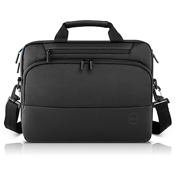 "Dell Pro 14"" Laptop Briefcase, Black Nylon (PO-BC-14-20)"
