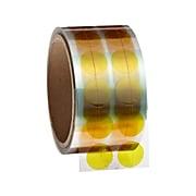 "Bertech High Temperature Masking Disks, 0.75""Dia., Amber, 1000/Roll (PPD-3/4)"