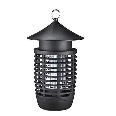 Serene Life 93599489M Waterproof Bug Zapper Black