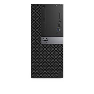 Dell Optiplex 7050 Intel Core i5-7500 X4 3.4GHz 8GB 512GB SSD Win10, Black (Certified Refurbished)
