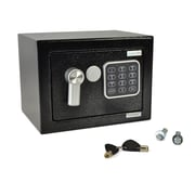 Serene Life Compact Electronic Safe Box with Mechanical Override (93599576M)