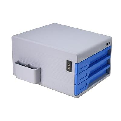 Serene Life Security File Cabinet - Multi-Drawer Filing Cabinet (93599544M)