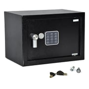 Serene Life Compact Electronic Safe Box with Mechanical Override (93599577M)