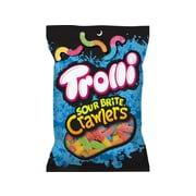 Trolli Sour Brite Crawlers Gummy Candies, Multi-Flavored, 5 Oz.,12 Bags/Pack (TBC12)