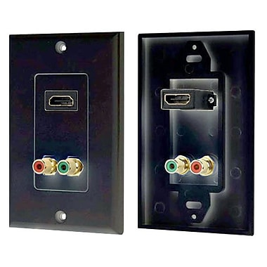Pyle (93579121M)HDMI/Stereo (Dual) RCA Audio Combo Wall Plate