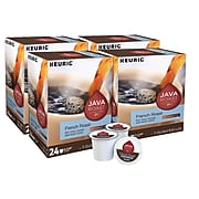 Java Roast French Roast Coffee, Keurig® K-Cup® Pods, Dark Roast, 96/Carton (52966CT)