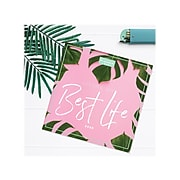 """2020 TF Publishing 12"""" x 12"""" Planner, Best Life, Pink/Green (20-4500)"""