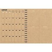 2020 TF Publishing 6.5'' x 8'' Planner, Simply Black (20-9261)