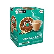 The Original Donut Shop One Step Vanilla Latte, Keurig® K-Cup® Pods, 20/Box (381779)