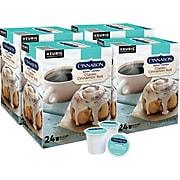 Cinnabon Cinnamon Coffee, Keurig® K-Cup® Pods, Light Roast, 96/Carton (10099555063056)
