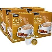Cafe Escapes Chai Latte, Keurig® K-Cup® Pods, Light Roast, 96/Carton (10099555068051)