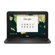 "Dell™ Chromebook 11 3180 11.6"" Chromebook, Intel Celeron N3060, 16GB SSD, 4GB, Chrome OS, Intel HD 400"