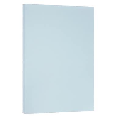 JAM Paper - Papier cartonné bristol de format tabloïde, 11 x 17 po, 110 lb, bleu, 50/paquet (16932841)