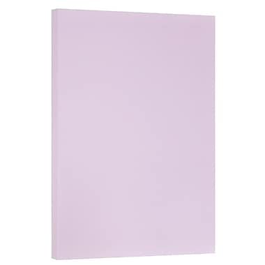 JAM Paper® Vellum Bristol Tabloid Cardstock, 11 x 17, 67 lb. Orchid, 50/Pack (16932838)