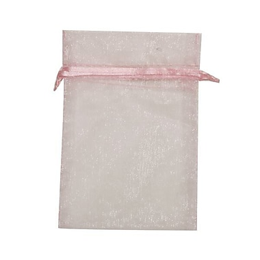 JAM Paper® Sheer Organza Bags, Small, 4 x 5.5, Baby Blue, 12/pack (SPC14K3a)