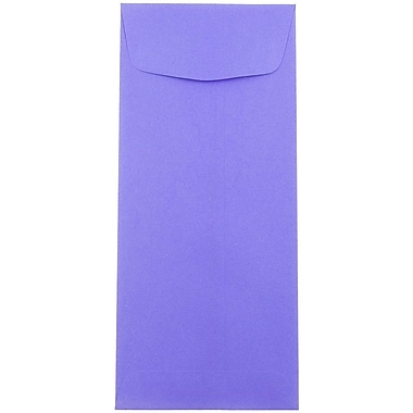 JAM Paper® #10 Policy Envelopes, 4 1/8 x 9 1/2, Ultra Grape Purple, 50/Pack (15866I)