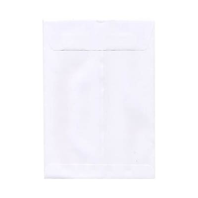 JAM Paper® 9.5 x 12.5 Open End Envelopes, White, 50/pack (01623198i)