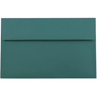 JAM Paper® A10 Invitation Envelopes, 6 x 9.5, Teal, 50/pack (157471i)