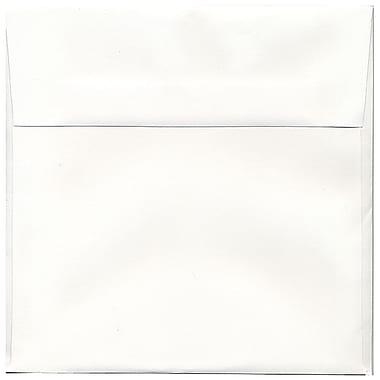 JAM Paper® 8.5 x 8.5 Square Invitation Envelopes, Strathmore Bright White Wove, 50/pack (900858534i)