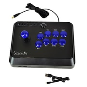 SereneLife SLARJST24 Arcade Flight Stick Video Game Joystick Controller for PS3, PS4, Xbox 360, Xbox One and PC Computer Black