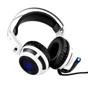 Pyle PGPHONE80 Professional PC Gaming Headset with Microphone White