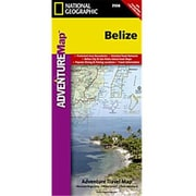National Geographic Maps Belize(NAGGR002)