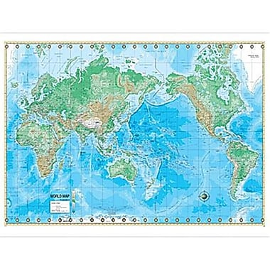 Universal Map World Advanced Physical Mounted(RTL249926)