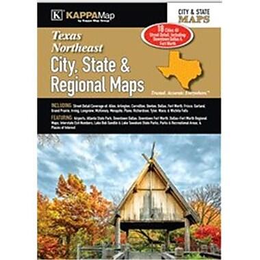 Universal Map Texas Northeast City, State & Regional Map(RTL249765)