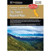 Universal Map Southern California City State And Regional Maps Atlas(RTL248879)