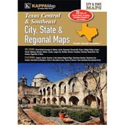 Universal Map Texas Central Southeast City, State & Regional Map(RTL249761)