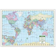 Universal Map 40 x 28 Inch World Paper - Rolled Map(RTL249036)