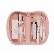 Royce Leather Ladies Travel Kit With Razor - Carnation Pink(EMLCO406)