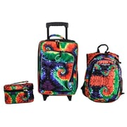 Obersee Little Kids 3 Piece Luggage Set - Tie Dye(HLMN180)
