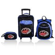 Obersee Little Kids 3 Piece Luggage Set - Racecar(HLMN181)