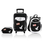 Obersee Little Kids 3 Piece Luggage Set - Space(HLMN179)