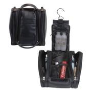 Royce Leather Deluxe Toiletry Bag - Black(EMLCO042)
