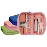 Royce Leather Ladies Travel Kit With Razor - Key Lime Green(EMLCO571)