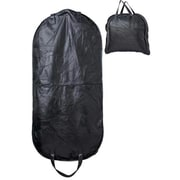 Embassy Black 45 Italian Stone Design Genuine Buffalo Leather Garment Bag(BFLUBLGARM)