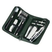 Royce Leather Executive Travel & Grooming Kit - Tan(EMLCO725)