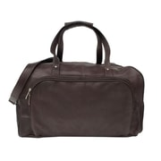 Piel Traveler Deluxe Carry-On Duffel Bag - Chocolate(PIEL109)