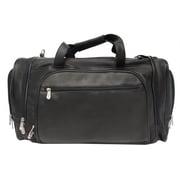 Piel Multi-Compartment Duffel Bag - Black(PIEL156)