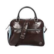 Bugatti Gioco Duffel Pleathor Weekender Bag, Brown(BUGSE045)