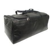 Piel Black Large Travel Duffel Bag(PIEL301)