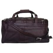 Piel Chocolate Small Travel Duffel Bag(PIEL295)